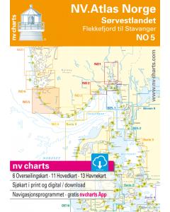 NO 5: NV.Atlas Norge - Sørvestlandet Sør (Flekkefjord til Stavanger)