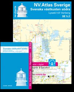 SE 5.2: NV.Atlas Sverige - Svenska västkusten södra (Lysekil till Varberg)