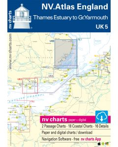 UK 5: NV.Atlas England - Thames Estuary to Great Yarmouth