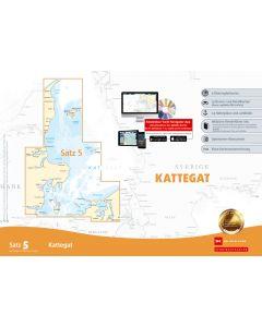Sportbootkarten Satz 5: Kattegat