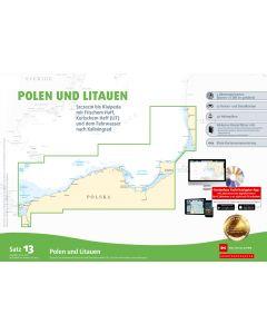 Sportbootkarten Satz 13: Polen und Litauen