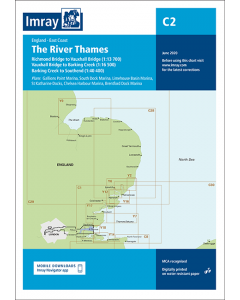 C2 The River Thames - Teddington to Southend (Imray Chart)