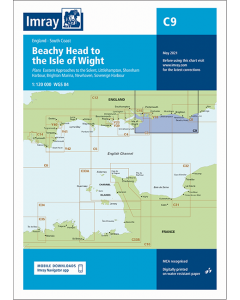 C9 Beachy Head to Isle of Wight (Imray Chart)