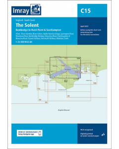 C15 The Solent (Imray Chart)