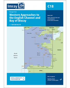 C18 Western Approaches to the English Channel & Bay of Biscay (Imray Chart)