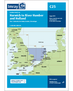 C25 Harwich to River Humber and Holland (Imray Chart)