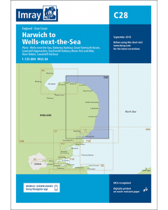 C28 East Coast - Harwich to Wells-next-the-Sea (Imray Chart)