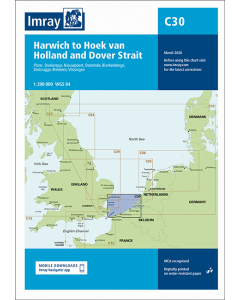 C30 Harwich to Hoek van Holland and Dover Strait (Imray Chart)