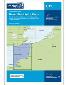 C31 Dover Strait to Le Havre (Imray Chart)
