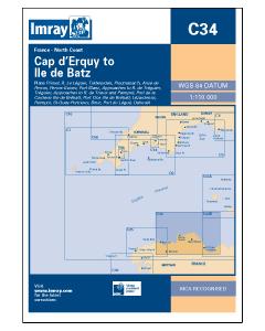 C34 Cap D'Erquy to Ile De Batz (Imray Chart)