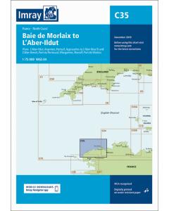 C35 Baie de Morlaix to L'Aber-Il dut (Imray Chart)