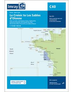 C40 Le Croisic to Les Sables d'O lonne (Imray Chart)