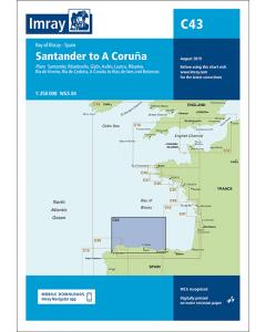 C43 Santander to A Coruna (Imray Chart)