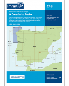 C48 A Coruña to Porto (Imray Chart)