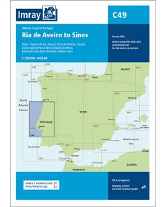 C49 Ria de Aveiro to Sines (Imray Chart)