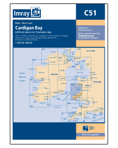 C51 Cardigan Bay - Milford Haven to Tremadog Bay (Imray Chart)