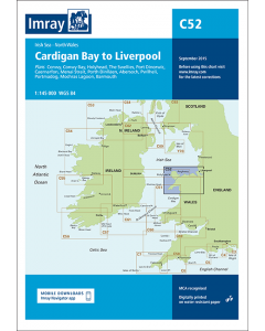 C52 Cardigan Bay to Liverpool (Imray Chart)