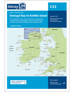 C53 Donegal Bay to Rathlin Island (Imray Chart)