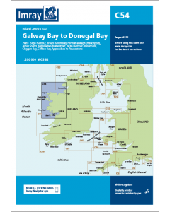 C54 Galway Bay to Donegal Bay (Imray Chart)