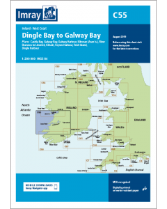 C55 Dingle Bay to Galway Bay (Imray Chart)