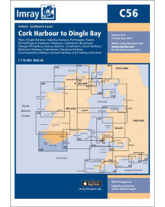 C56 Cork Harbour to Dingle Bay (Imray Chart)