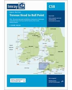 C58 Trevose Head to Bull Point (Imray Chart)