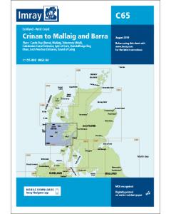 C65 Crinan to Mallaig and Barra (Imray Chart)