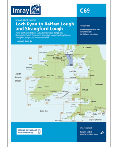 C69 Loch Ryan to Belfast Lough and Strangford Lough (Imray Chart)
