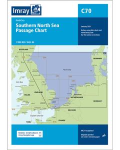 C70 Southern North Sea Passage Chart (Imray Chart)