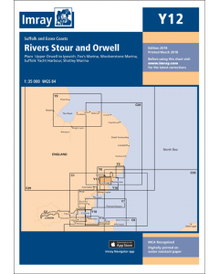 Y12 Rivers Stour and Orwell (Imray Chart)