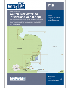Y16 Walton Backwaters to Ipswich & Woodbridge (Imray Chart)