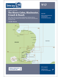 Y17 River Colne to Blackwater & Crouch (Imray Chart)