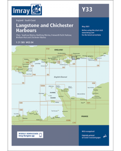 Y33 Langstone & Chichester Harbours (Imray Chart)