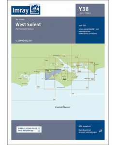 Y38 West Solent (Imray Chart)