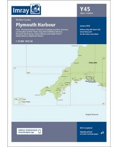 Y45 Plymouth Harbour (Imray Chart)