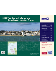 2500 The Channel Islands and adjacent coast of France Chart Atlas