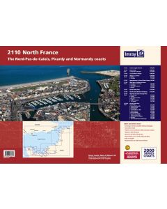 2110 North France Chart Pack (Imray Chart Folio)