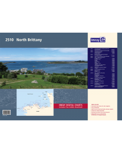 2510 North Brittany Chart Pack (Imray Chart Folio)