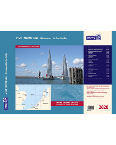 2120 North Sea - Nieuwpoort to Den Helder Chart Atlas