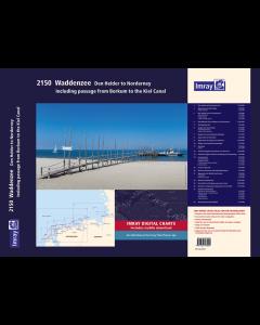 2150 Waddenzee - Den Helder to Norderney Chart Atlas