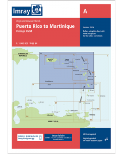 A Puerto Rico to Martinique (Imray Chart)