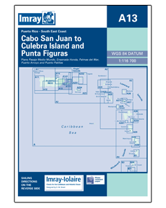 A13 Cabo San Juan to Culebra Is and Punta Figuras (Imray Chart)