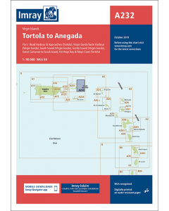 A232 Tortola to Anegada (Imray Chart)