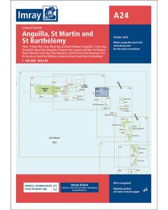 A24 Anguilla St Martin & St Barthelemy (Imray Chart)