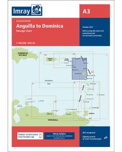 A3 Anguilla to Dominica (Imray Chart)