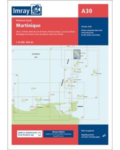 A30 Martinique (Imray Chart)
