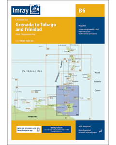B6 Grenada to Tobago and Trinidad (Imray Chart)