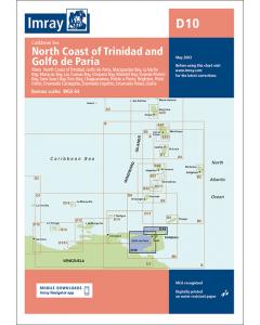 D10 North Coast of Trinidad and Golfo de Paria (Imray Chart)