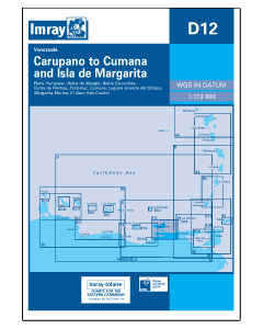 D12 Carupano to Cumana and Isla de Margarita (Imray Chart)