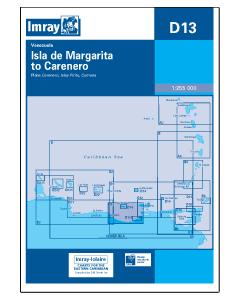 D13 Isla de Margarita to Caranero (Imray Chart)